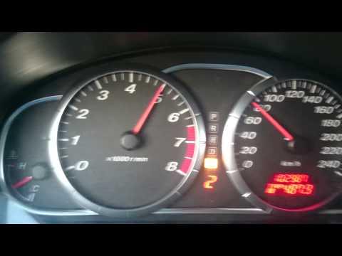 Разгон 0-100 км/ч Mazda 6 2.3 166 л.с.