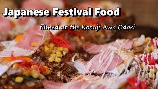 Japanese Festival Foods