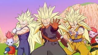 getlinkyoutube.com-Dragon Ball Heroes - All CG Cutscenes SSJ3 & Super Saiyan God