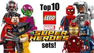 getlinkyoutube.com-Top 10 LEGO Marvel Super Heroes Sets!