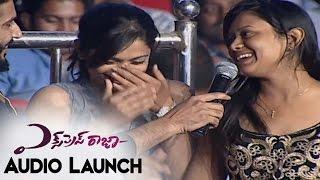 getlinkyoutube.com-Audience Satire on Anchors Ravi & Lasya At Express Raja Audio Launch