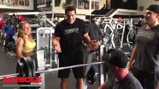 getlinkyoutube.com-Lou Ferrigno trains his son Lou Jr and Chris Minnes
