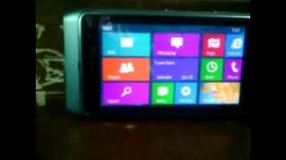 getlinkyoutube.com-Windows 8 Preview on My Nokia N8