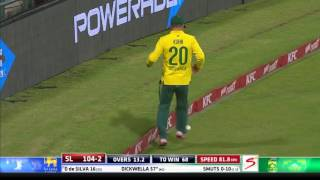 South Africa vs Sri Lanka - 3rd T20