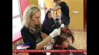 getlinkyoutube.com-NEW LOOK by salonul&scoala de coafura DANY-STUDIO Bistriţa, tel.0740777909, 07.12.2012 part.2