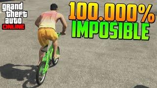 getlinkyoutube.com-100.000% IMPOSIBLE!! ESCALERA EMPINADA - Gameplay GTA 5 Online Funny Moments (Carrera GTA V PS4)