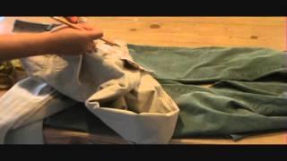getlinkyoutube.com-Como Achicar o Reducir la Cintura a un Pantalon