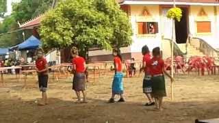 ลำวงลาว บุนบ้านตึง ปี 2014 Laos