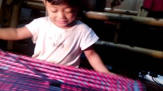 getlinkyoutube.com-3yrs old only can make a doormat
