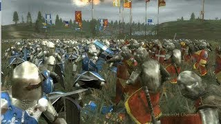 getlinkyoutube.com-Medieval 2 Total War Epic Battle: France Vs England - Machinima By Magister