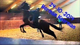 getlinkyoutube.com-Praktisch met paarden: HD Herman Koorman ZADELMAK MAKEN