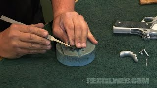 getlinkyoutube.com-Fitting a 1911 Thumb Safety on RECOILtv DIY (full episode)