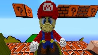 getlinkyoutube.com-Minecraft Snapshot: EPIC MARIO BOSS BATTLE! - w/Preston, Woofless & Lachlan!