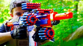 getlinkyoutube.com-Nerf War: ONE MILLION SUBSCRIBERS