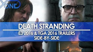 getlinkyoutube.com-Death Stranding - E3 2016 & TGA 2016 Trailers Side-by-Side