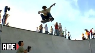 getlinkyoutube.com-Tony Hawk, Bam, Sheckler, Andrew Reynolds and more Drop in at a Local Skateparks