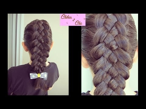Classic 5 Strand Dutch/French Braid | Chikas Chic