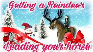 getlinkyoutube.com-How to get the REINDEER LAST WEEK of Christmas Quests Star Stable