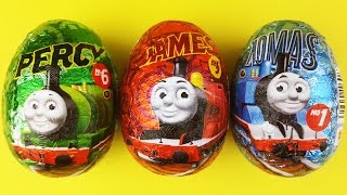 getlinkyoutube.com-Thomas and Friends Surprise Eggs Compilation - Percy, James, Thomas - Thomas and Friends Toys