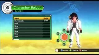 getlinkyoutube.com-Dragon Ball Xenoverse 100% Save Game + All Characters + All Skills