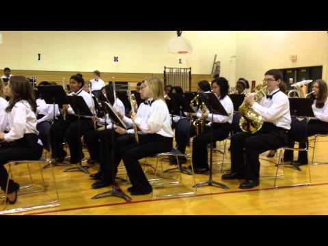 Crete Monee Middle School Winter Band Concert 2013 video A