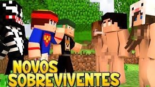 getlinkyoutube.com-Minecraft: PELADOS! - #03 NOVOS SOBREVIVENTES!