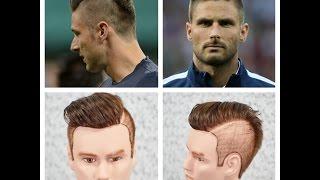 getlinkyoutube.com-Olivier Giroud Haircut & Hairstyle Tutorial 2014