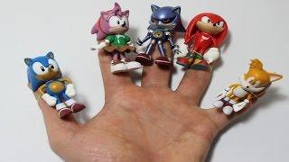Sonic Finger Family: Daddy Finger Nursery Rhymes Full HD