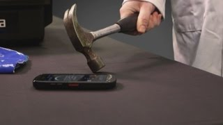 Kyocera's Torque Phone: Smashing This Phone Won't Stop It From Working