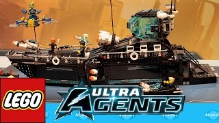 getlinkyoutube.com-LEGO Ultra Agents Nuremberg Toy Fair