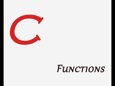 C functions Explained