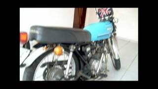 getlinkyoutube.com-Honda CG 125 1982 bobber - hard frame