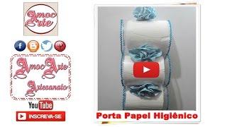 getlinkyoutube.com-Diy - Porta Papel Higiênico de pet - AmocArte Artesanato