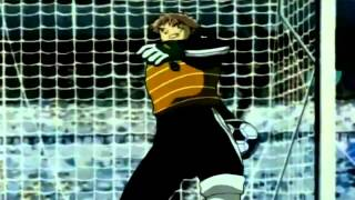 getlinkyoutube.com-Captain Tsubasa Road To 2002 - Super Campeones Capítulo 29 Español Latino 1-3 Japón vs Alemania