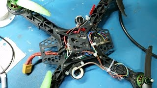 Quadcopter altitude hold project