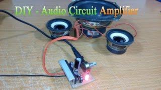 getlinkyoutube.com-How to make Circuit amplifier Simple, Use IC LA4440