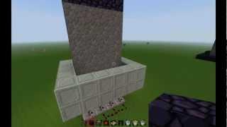 getlinkyoutube.com-Minecraft Redstone Tutorial [Deutsch] [HD] - Selbstbauende Wand
