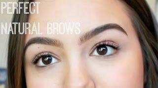 getlinkyoutube.com-How to Fill Natural Eyebrows