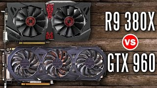 Asus Strix R9 380x vs Gigabyte G1 GTX 960 4GB - Graphics Card Showdown!