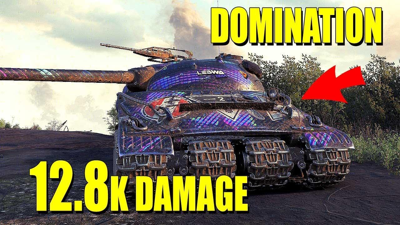Obj. 279: 12.8k damage - World of Tanks