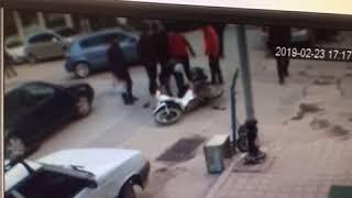 Otomobil ters yönde giden bisiklete çarptı: 2 yaralı