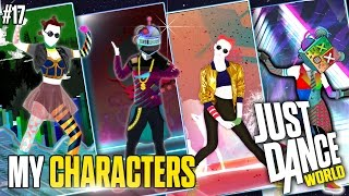 getlinkyoutube.com-Just Dance 2017 | My Characters Just Dance | PART 17 | FANMADES