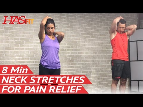 8 Min Neck Stretches for Neck Pain Relief Exercises