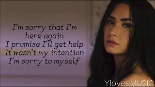 Demi Lovato   Sober (Lyrics)