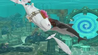 getlinkyoutube.com-Hungry Shark Evolution Moby Dick Android Gameplay #12