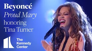 getlinkyoutube.com-Proud Mary (Tina Turner Tribute) - Beyonce - 2005 Kennedy Center Honors