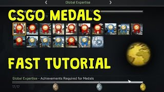 getlinkyoutube.com-CS:GO FASTEST METHOD TO GET MEDALS! *WORKING JANUARY 2017*