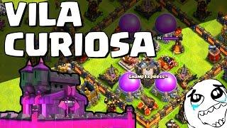 CV10 MUITO CURIOSO QUE CHEGOU NA TITÃ (VILA CURIOSA) - CLASH OF CLANS