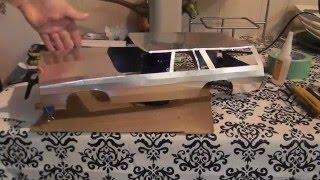 getlinkyoutube.com-Building a Metal  Demolition Derby RC Wagon body