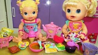 getlinkyoutube.com-Papinha de ervilha para minha baby alive. #Eloah e Diversão